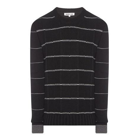 Twin Stripe Sweater, ${color}