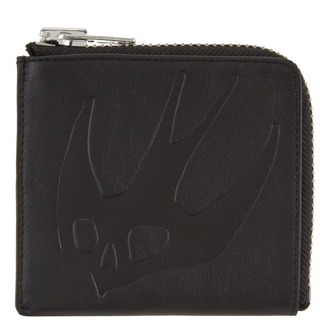 Swallow Half-Zip Wallet, ${color}