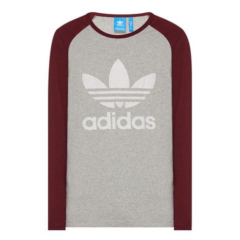 Trefoil Long Sleeve T-Shirt, ${color}