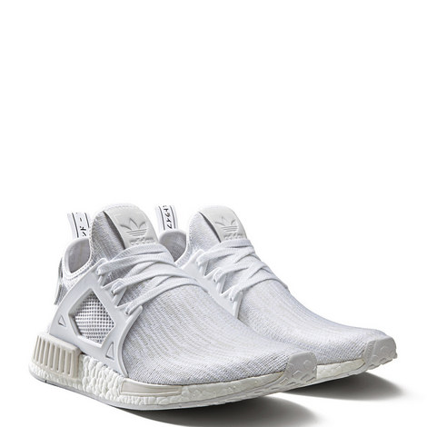 NMD XR1 Prime Knit Vintage White Trainers, ${color}