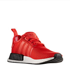 NMD R1 Red Black Trainers