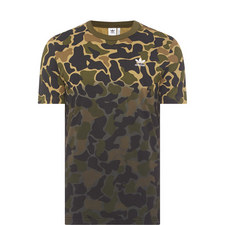 Camouflage Crew Neck T-Shirt