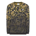 Camouflage Crew Neck Sweatshirt, ${color}