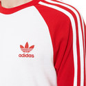 Three Stripe Long-Sleeve T-Shirt                                                                             , ${color}