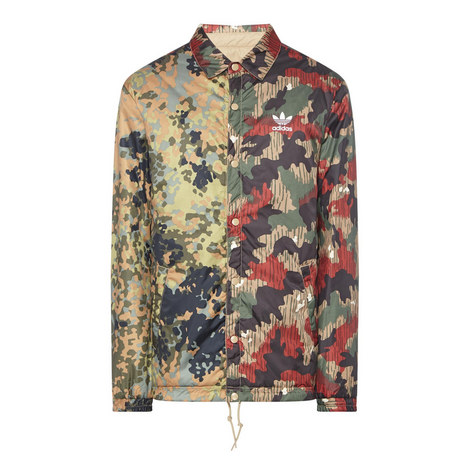 HU Hiking Camouflage Coach JacketÂ, ${color}