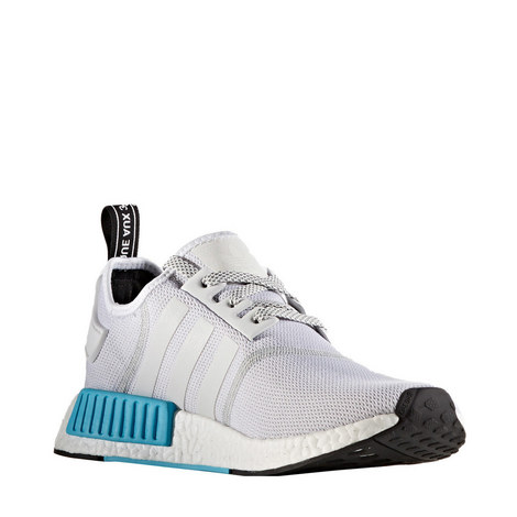NMD R1 White Sky Blue Trainers, ${color}