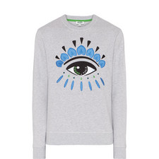 Eye Logo Crew Neck Sweater