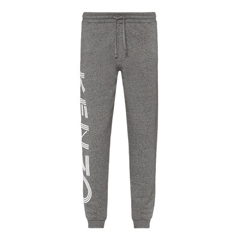 Logo Embossed Cuffed Sweatpants, ${color}