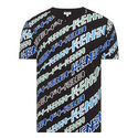 Diagonal Print T-Shirt, ${color}