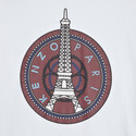 Eiffel Tower Print T-Shirt, ${color}
