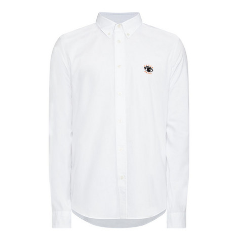 Embroidered Logo Oxford Shirt, ${color}