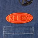Patch Detail Denim Shirt, ${color}