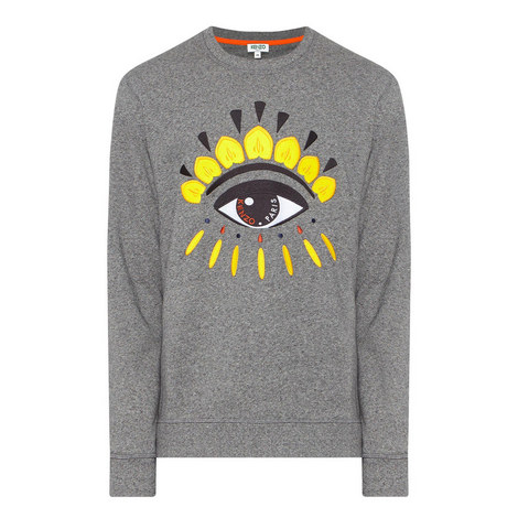 Eye Logo Crew Neck Sweatshirt, ${color}