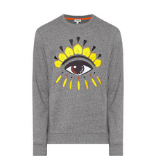 Eye Logo Crew Neck Sweatshirt