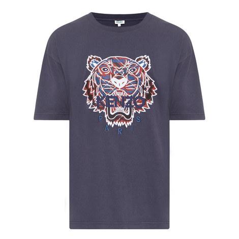 Tiger Appliqué T-Shirt, ${color}