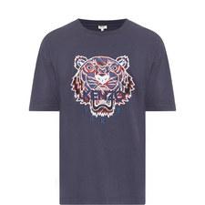 Tiger Appliqué T-Shirt