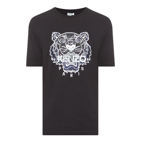 Tiger Appliqué T-Shirt, ${color}