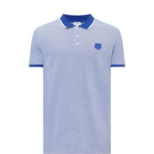 Collar Tip Tiger Polo Shirt