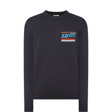 Logo Chest Crew Neck Sweater