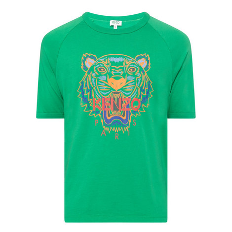 Tiger Print T-Shirt , ${color}