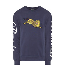 Jumping Tiger Sweatshirt