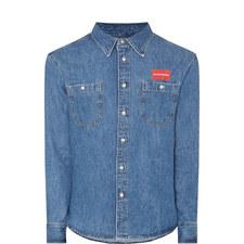 Denim Patch Pocket Shirt