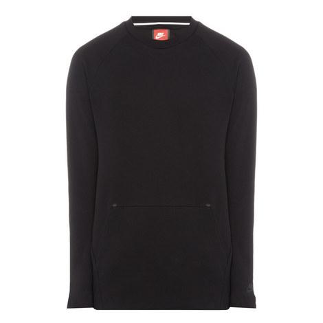 Technical Fleece Crew Neck Sweater, ${color}