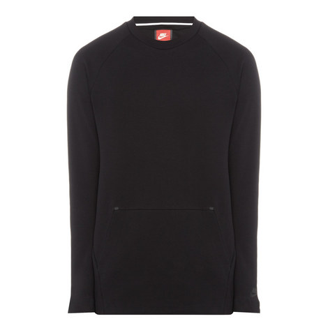 Technical Fleece Crew Neck Sweater, ${color}
