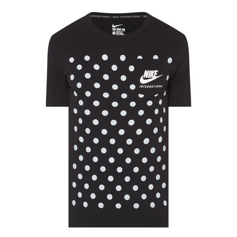 Polka Dot Logo T-Shirt, ${color}