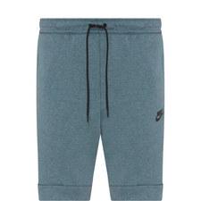 Tech Drawstring Fleece Shorts