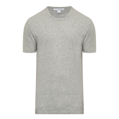 Crew Neck Cotton T-Shirt, ${color}