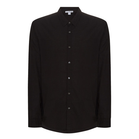 Long Sleeve Cotton Shirt, ${color}