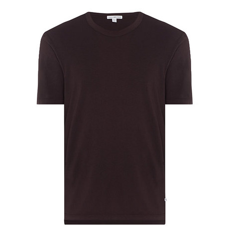 Crew Neck Cotton T-Shirt, ${color}