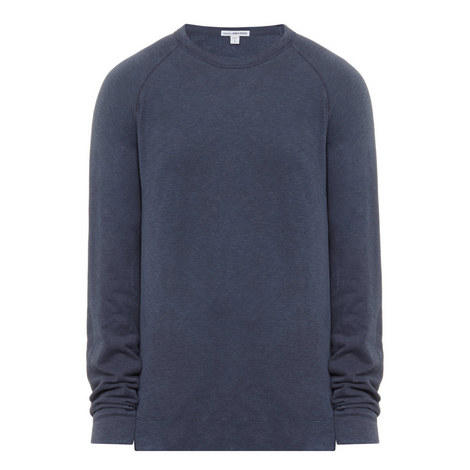 Raglan Sleeve Cotton Sweater, ${color}