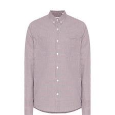 Chest Pocket Gingham Shirt