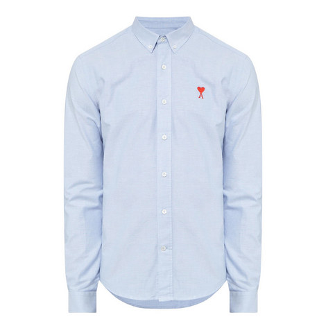 Heart Oxford Shirt, ${color}