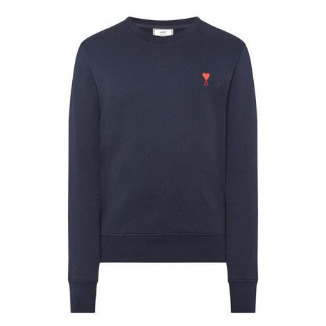 Heart Logo Sweatshirt, ${color}