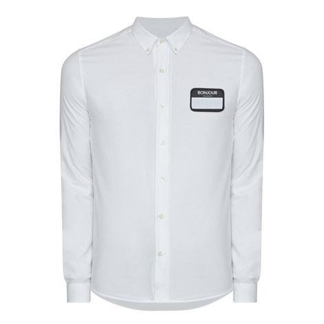 Bonjour Patch Shirt, ${color}