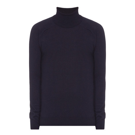 Merino Mix Polo Neck Sweater, ${color}