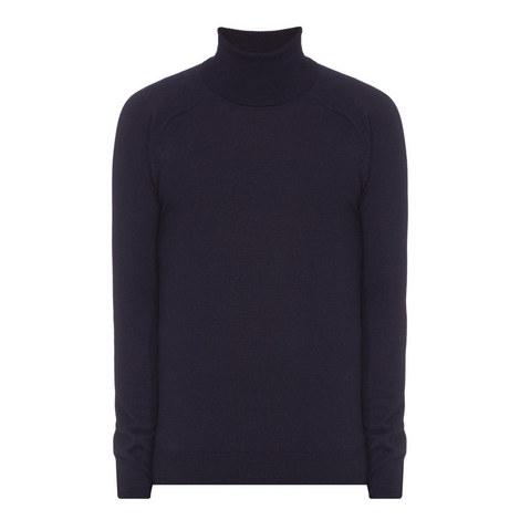 Merino Mix Polo Neck Sweater, ${color}