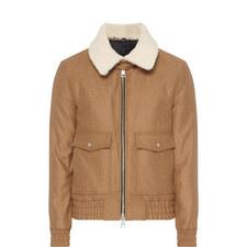 Shearling Wool Jacket