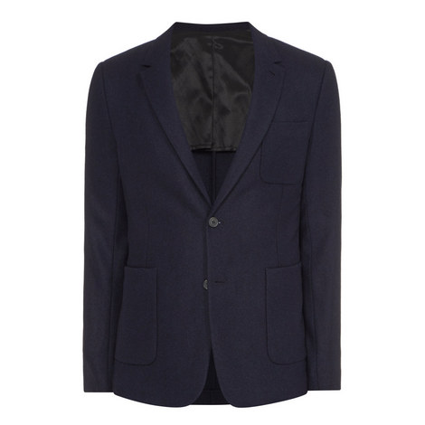 Patch Pocket Blazer, ${color}