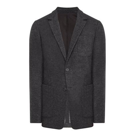Wool Mix Blazer, ${color}