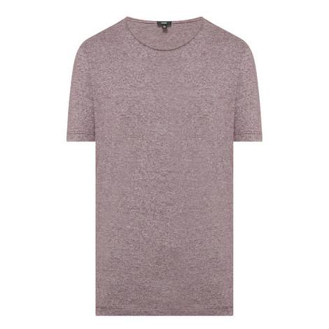 Crew Neck Mélange T-Shirt, ${color}