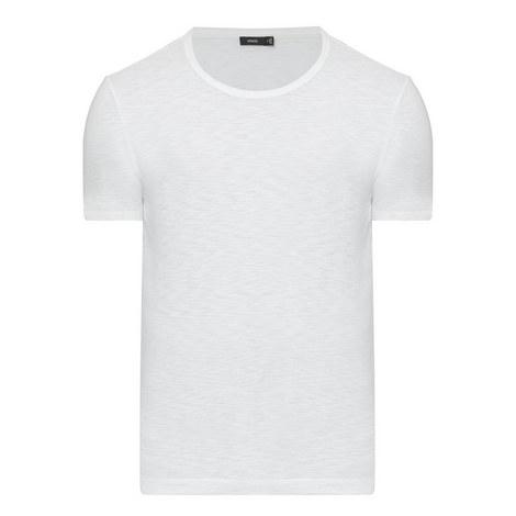 Slub Crew Neck T-Shirt, ${color}