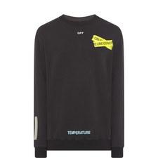 Firetape Arrow Print Sweatshirt
