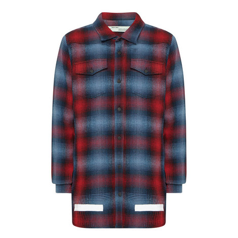 Knitted Check Shirt, ${color}