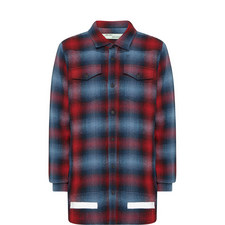 Knitted Check Shirt