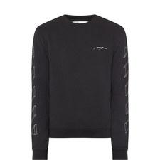 Diagonal 3D Arrows Sweatshirt