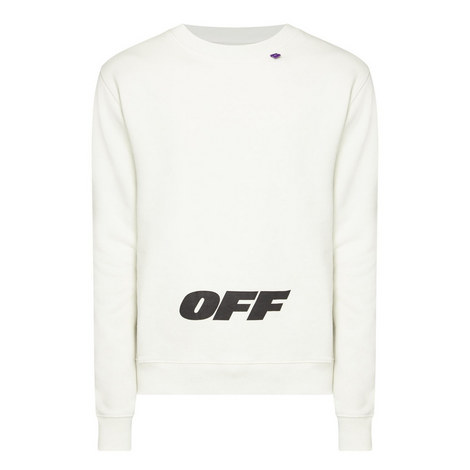 Wing Off Crew Neck Swetshirt, ${color}